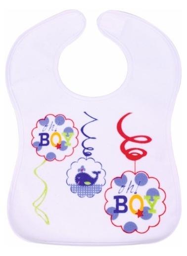 Sevi Bebe Sevi Bebe Cırtlı Havlu Önlük  Lacivert